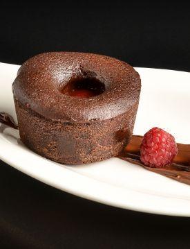 Choco raspberry fondue